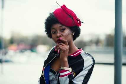 spunky black lady